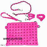 Cupcacke Cult: Neonpink bag with studs
